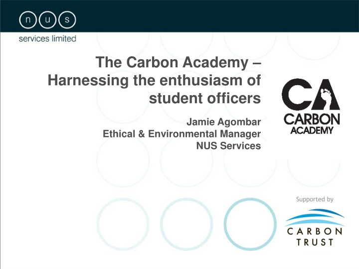the carbon academy harnessing the enthusiasm n.