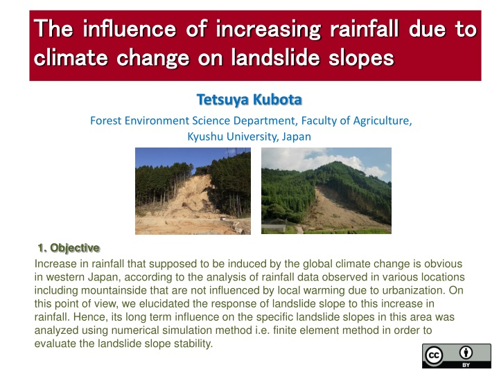 tetsuya kubota forest environment science department faculty of agriculture kyushu university japan n.
