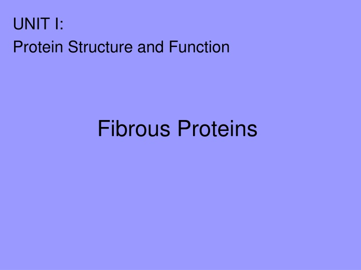 fibrous proteins n.