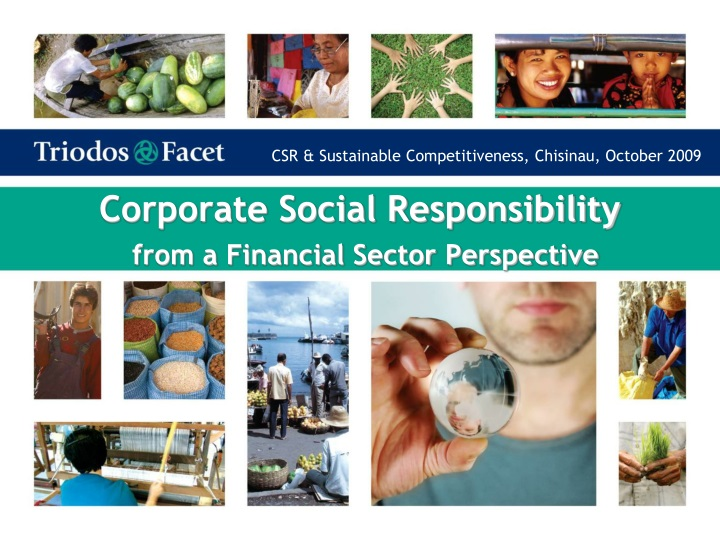 corporate social responsibility from a financial sector perspective n.