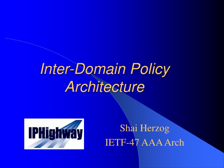 inter domain policy architecture n.