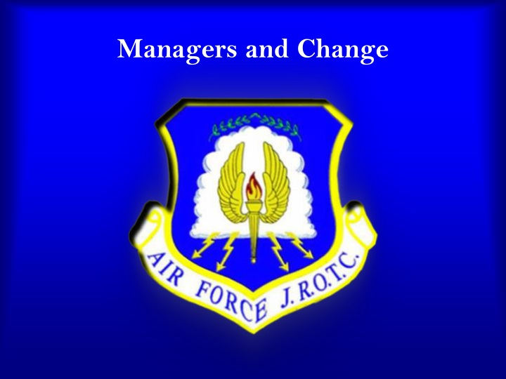 managers and change n.