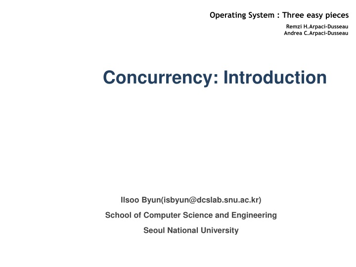 concurrency introduction n.