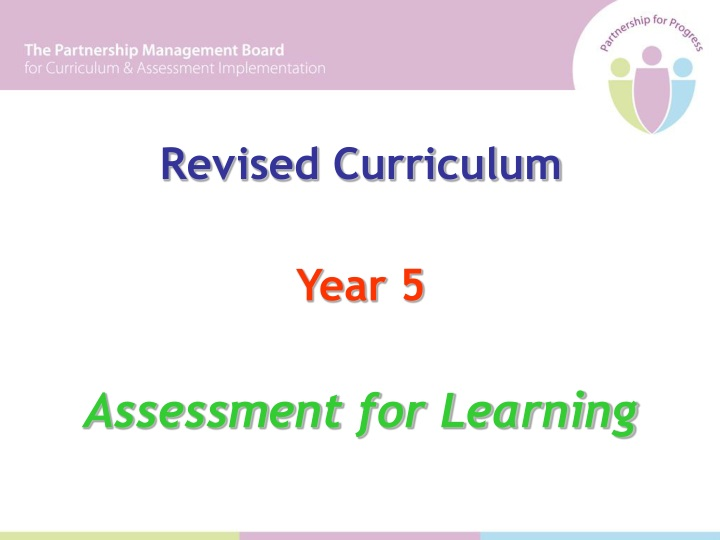 revised curriculum year 5 assessment for learning n.