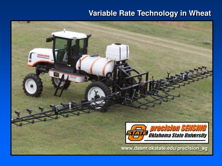 variable rate technology in wheat n.