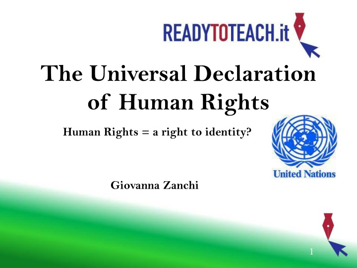 the universal declaration of human rights n.
