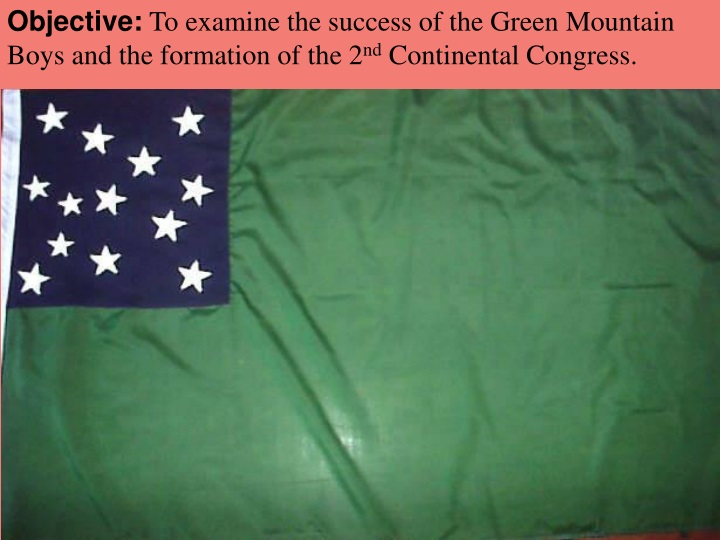 objective to examine the success of the green n.