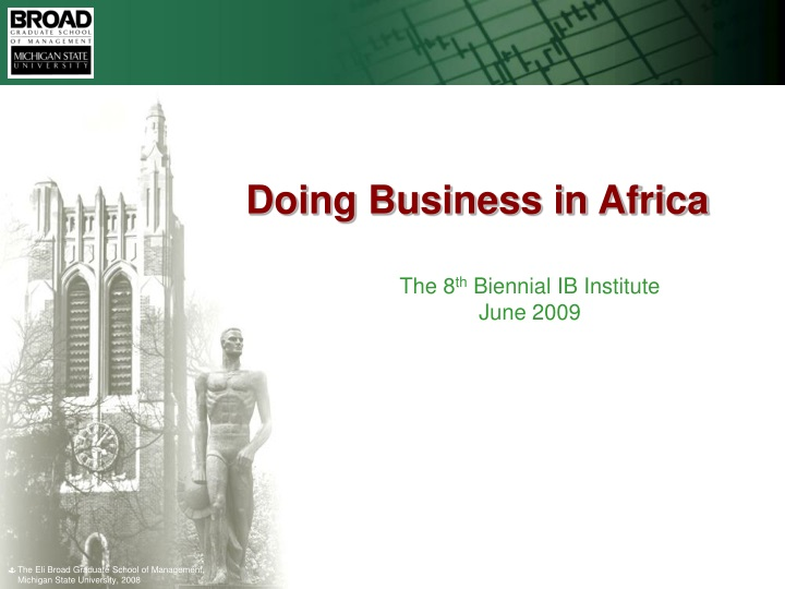 doing business in africa n.