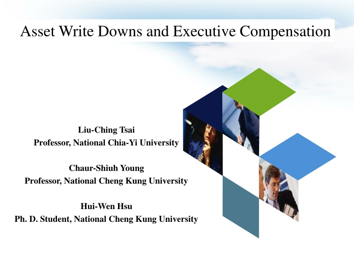 asset write downs and executive compensation n.