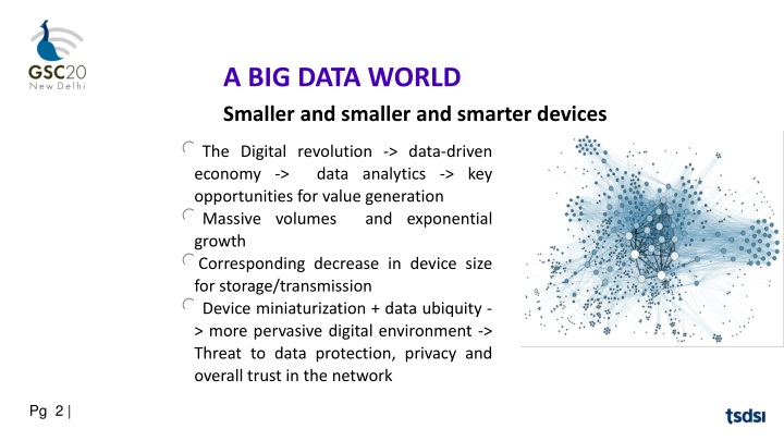 a big data world smaller and smaller and smarter n.