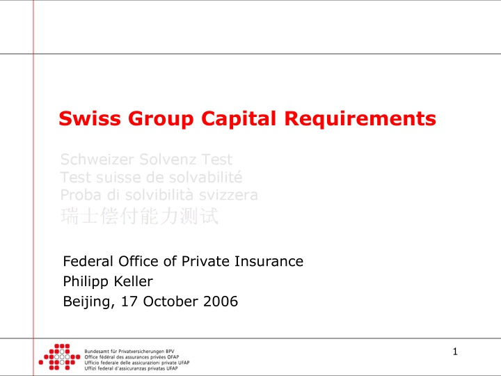 swiss group capital requirements n.