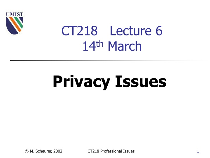 ct218 lecture 6 14 th march n.