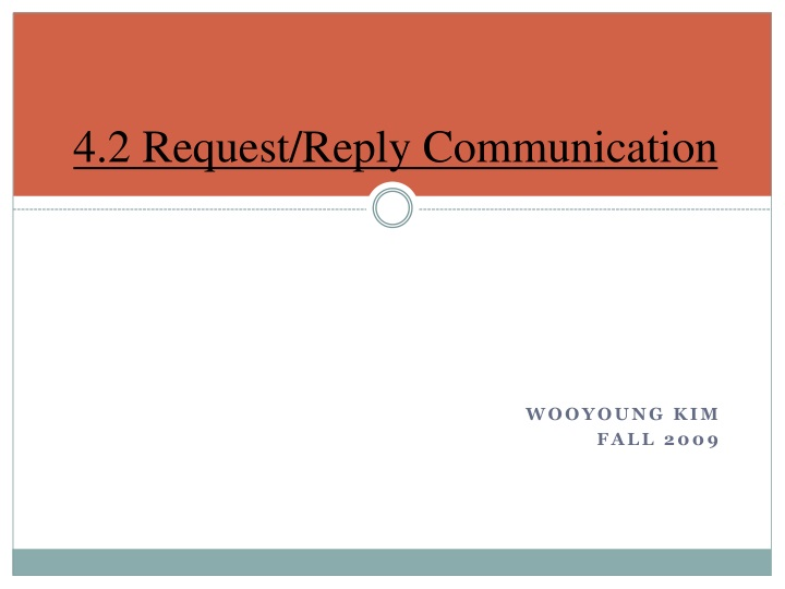 4 2 request reply communication n.