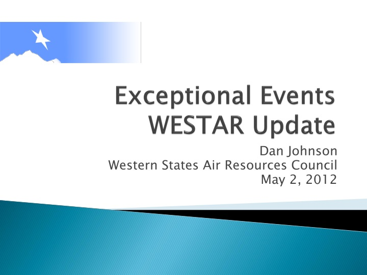 exceptional events westar update n.
