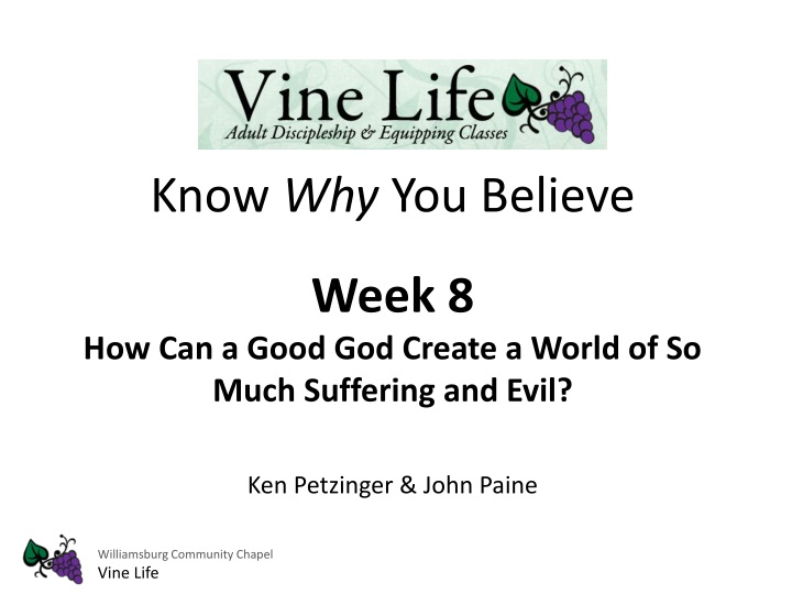 know why you believe week 8 how can a good n.