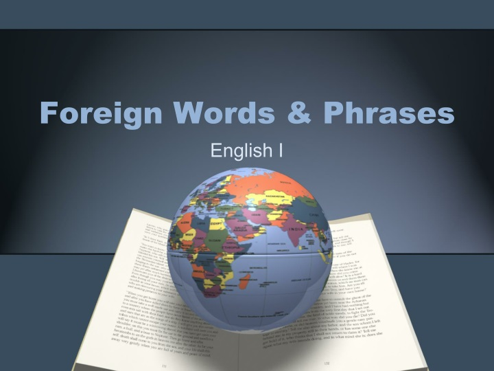 foreign words phrases n.