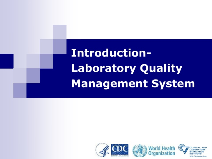 introduction laboratory quality management system n.