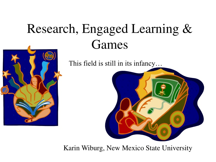 research engaged learning games n.