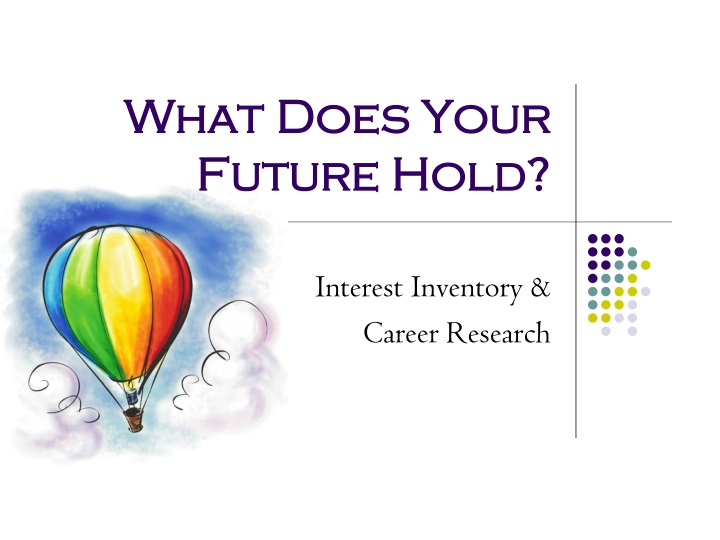 what does your future hold n.