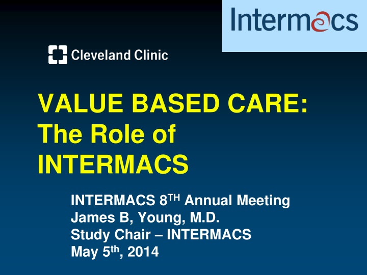 value based care the role of intermacs n.