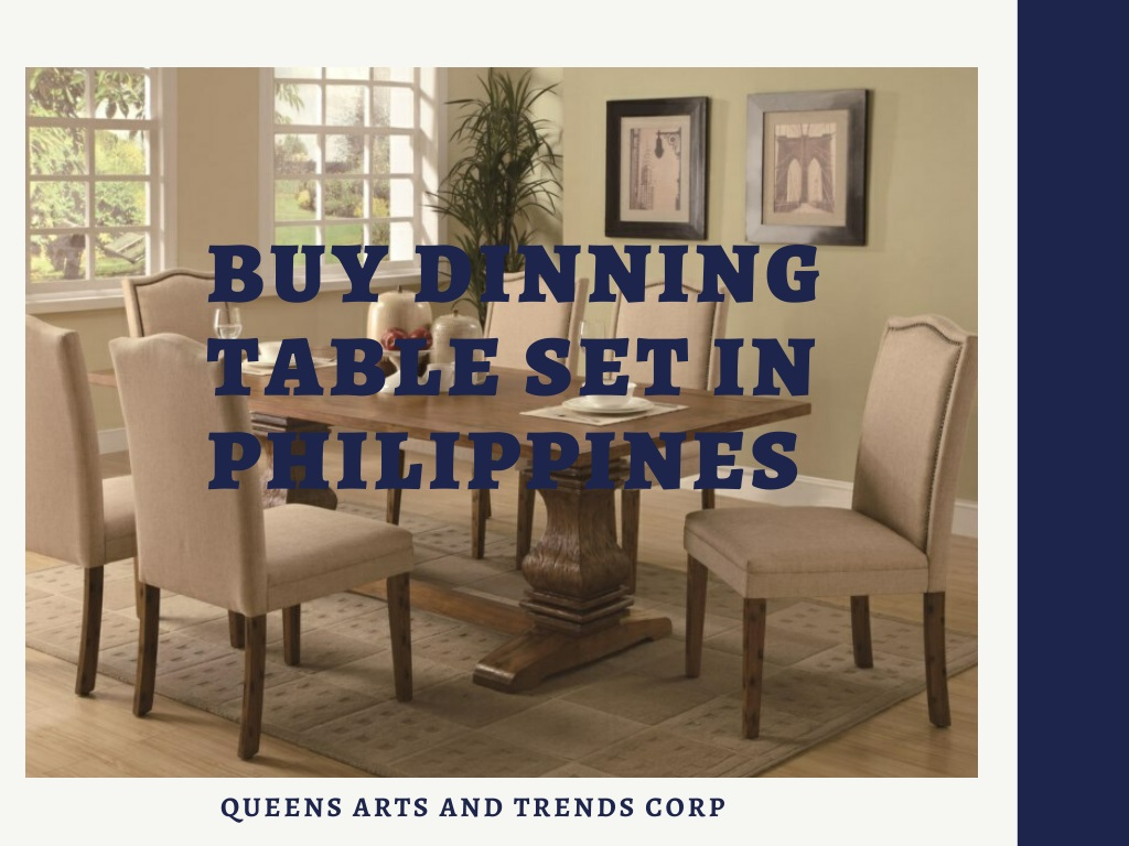 Get Elegant Dinning Table sets With Reasonable Price