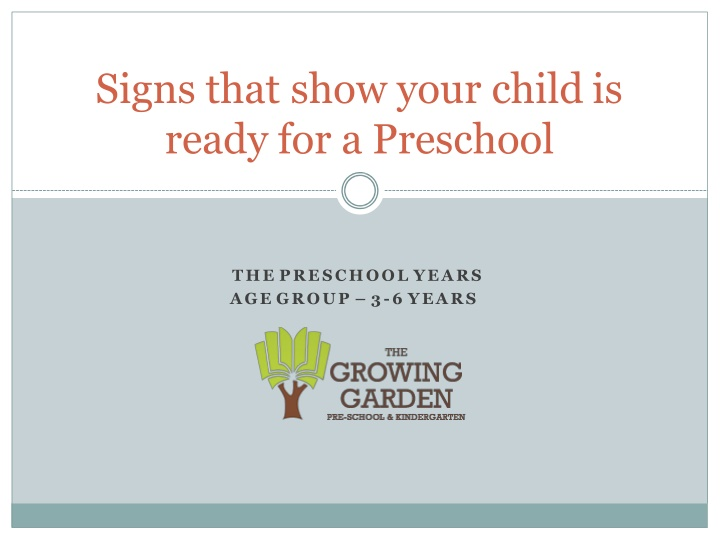 signs that show your child is ready n.