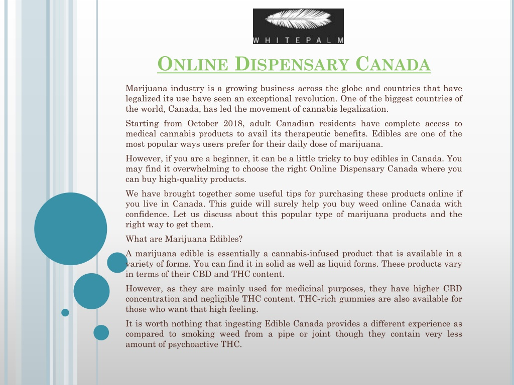 online dispensary canada l.