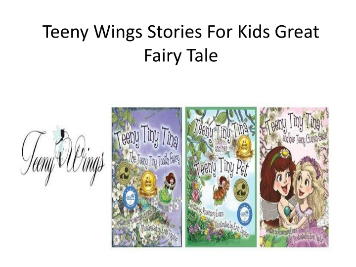 teeny wings stories for kids great f airy tale n.