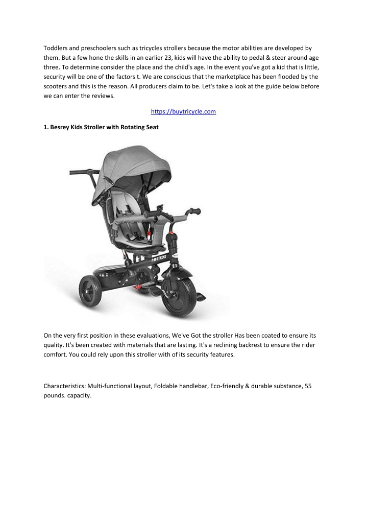 toddlers and preschoolers such as tricycles n.