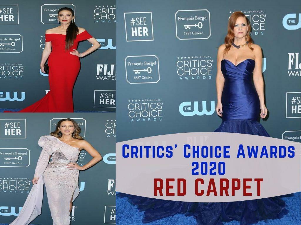critics choice awards red carpet l.