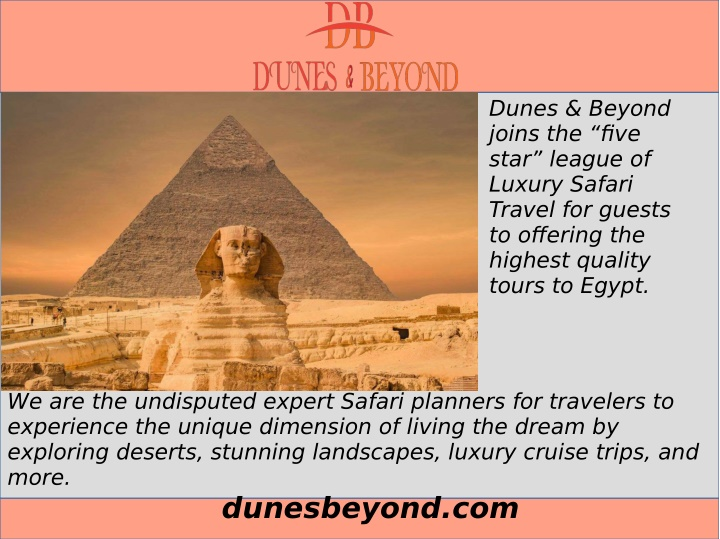 dunes beyond joins the five star league of luxury n.