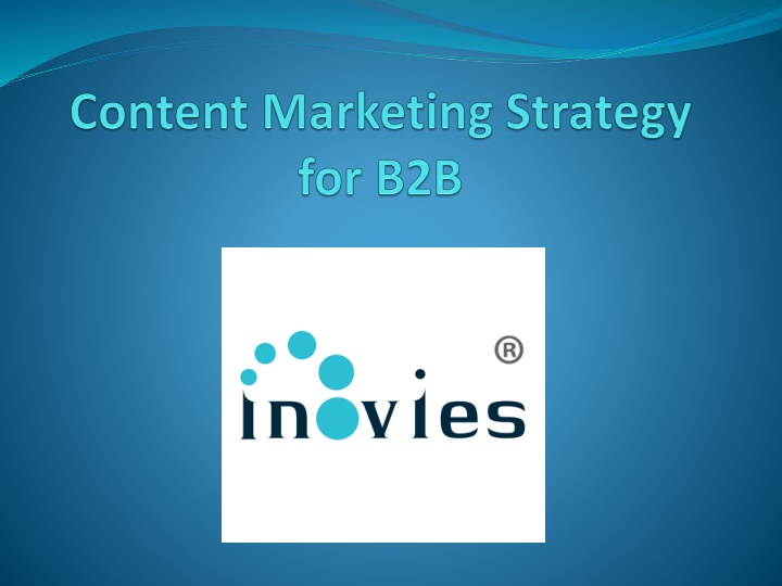 content marketing strategy for b2b n.