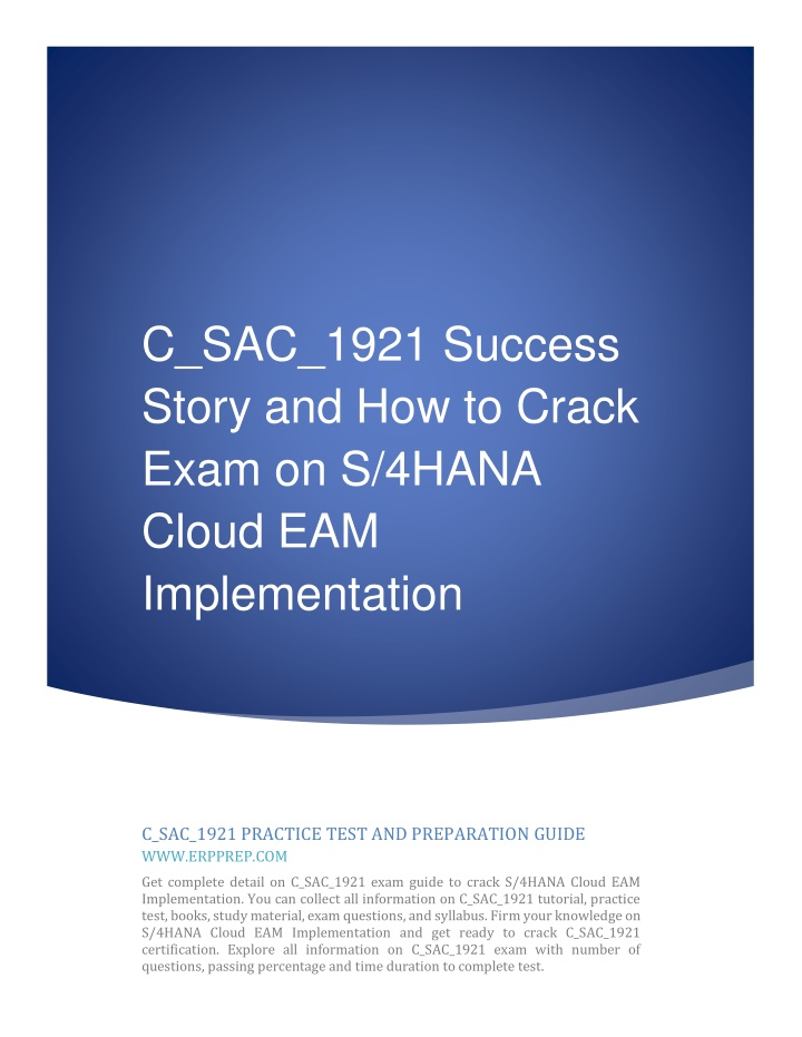 c sac 1921 success story and how to crack exam n.