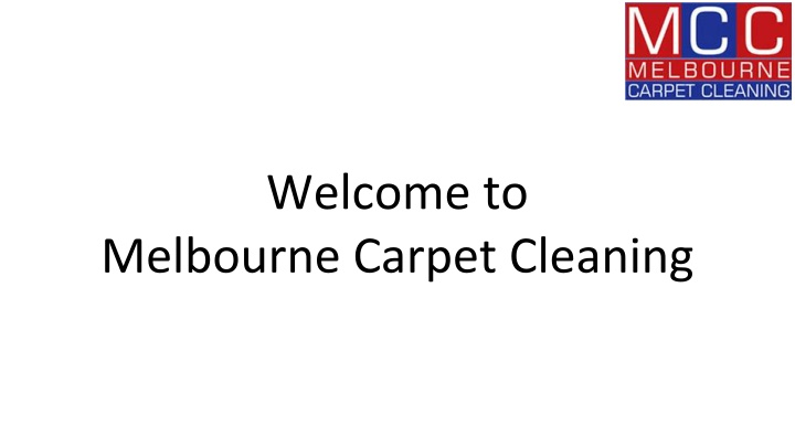 welcome to melbourne carpet cleaning n.