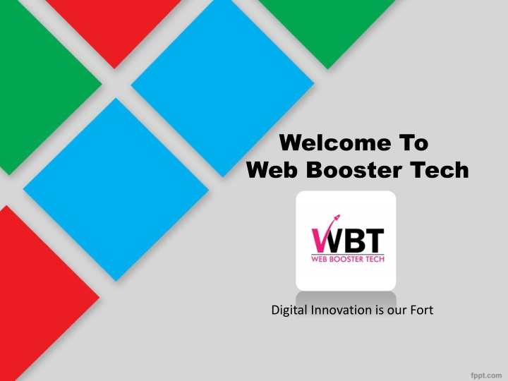welcome to web booster tech n.