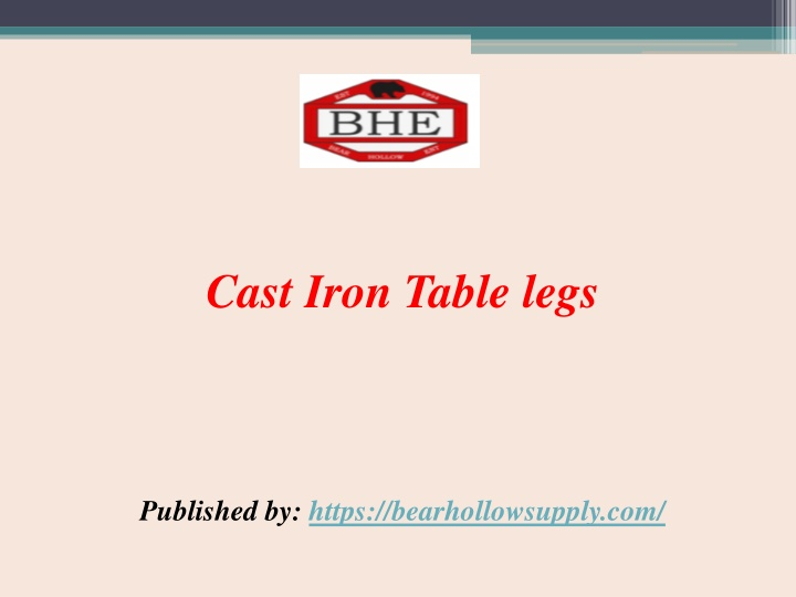 cast iron table legs published by https n.