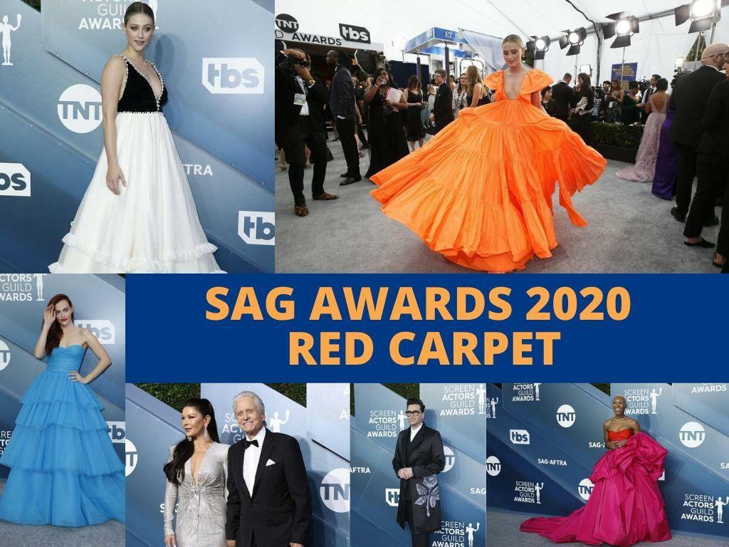 sag awards red carpet l.