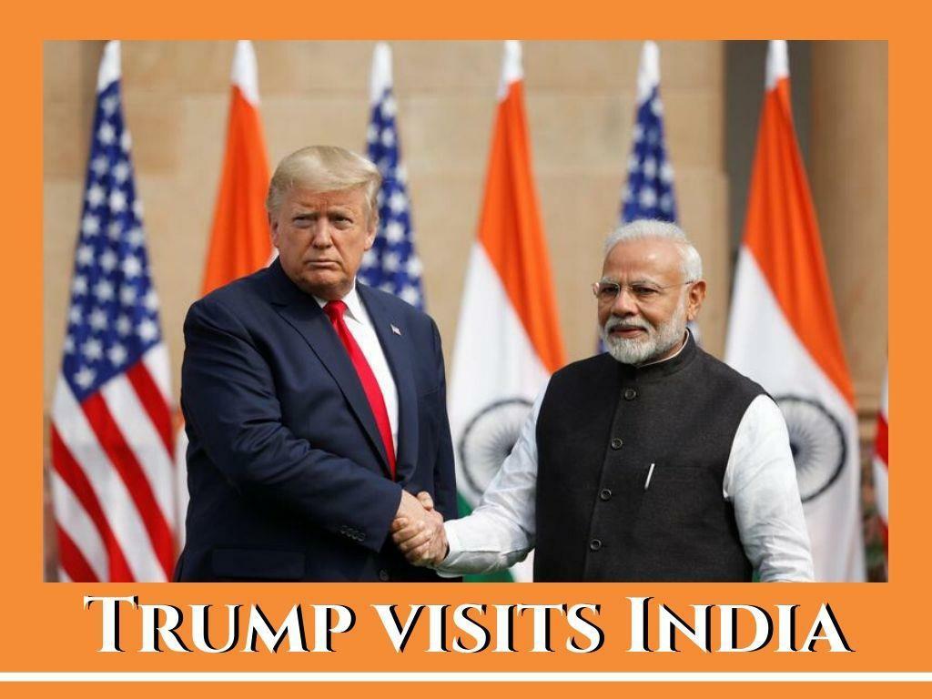 trump visits india l.