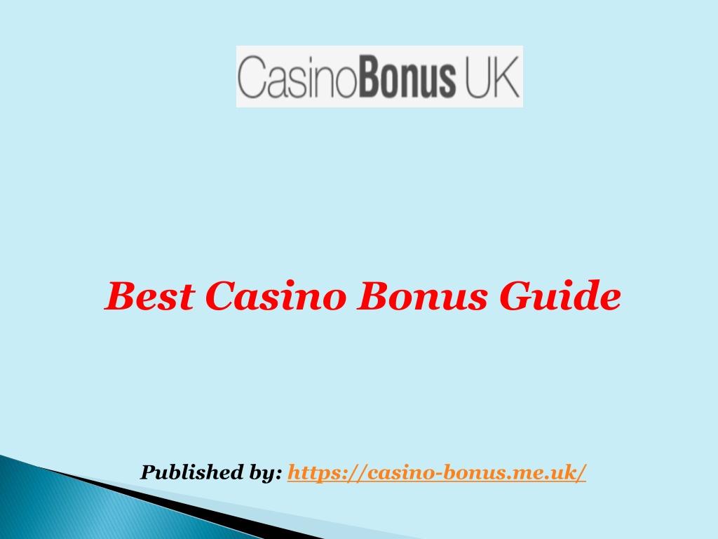 best casino bonus guide published by https casino l.