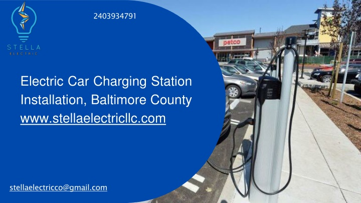 electric car charging station installation baltimore county www stellaelectricllc com n.