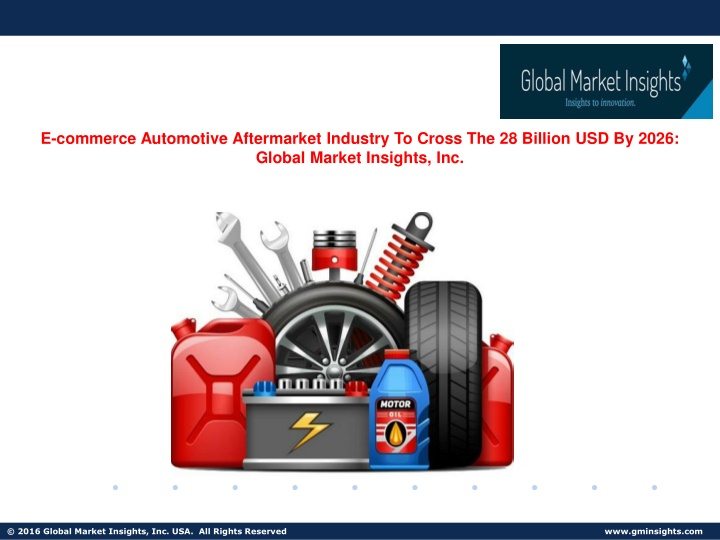 e commerce automotive aftermarket industry n.
