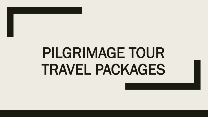 pilgrimage tour travel packages n.