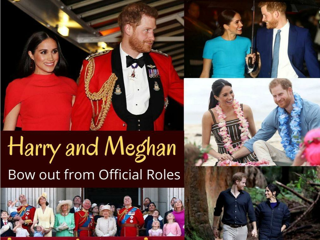 harry and meghan bow out from official roles l.
