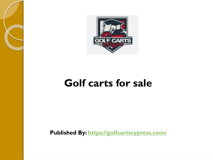 golf carts for sale published by https n.
