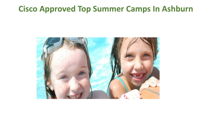 cisco approved top summer camps in ashburn n.