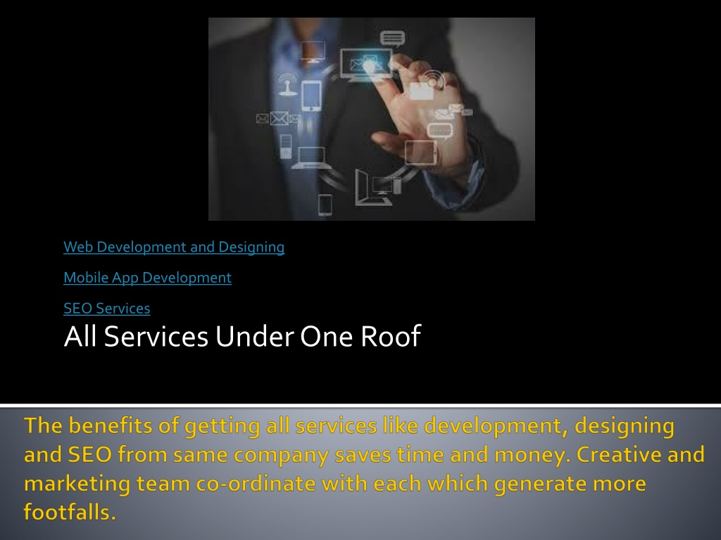 Ppt Get Complete Business Solutions From Development To