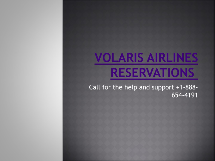 volaris airlines reservations n.