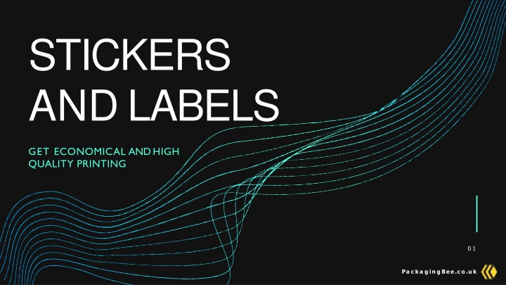 stickers and labels n.