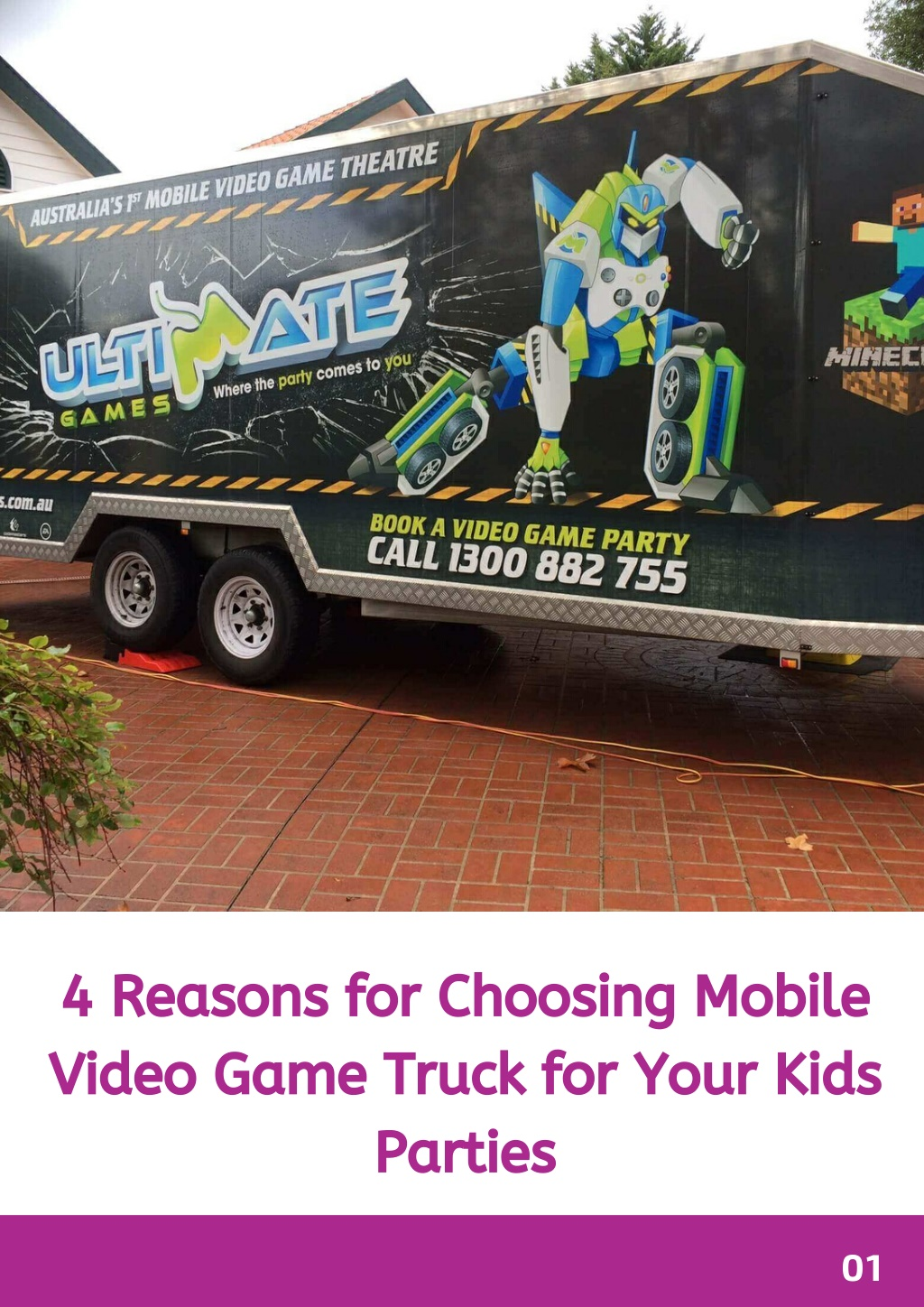 4 reasons for choosing mobile video game truck l.