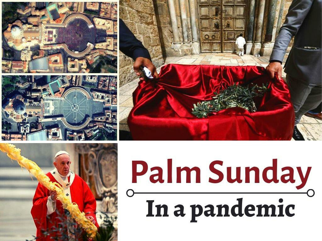palm sunday in a pandemic l.